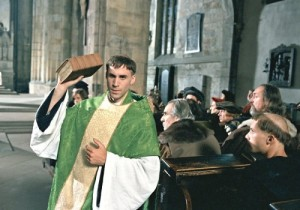"Luther as priest in ""Luther"""