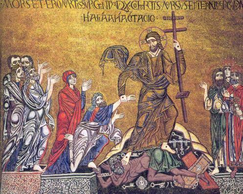 Descent of Christ into hell-cattedrale-di-san-marco-venezia-11th-c