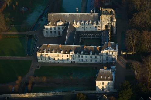 The Abbaye de St. Wandrille de Fontanelle, Normandy