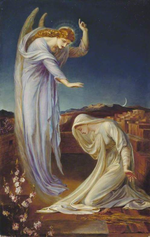 Shields, Frederick James, 1833-1911; The Annunciation
