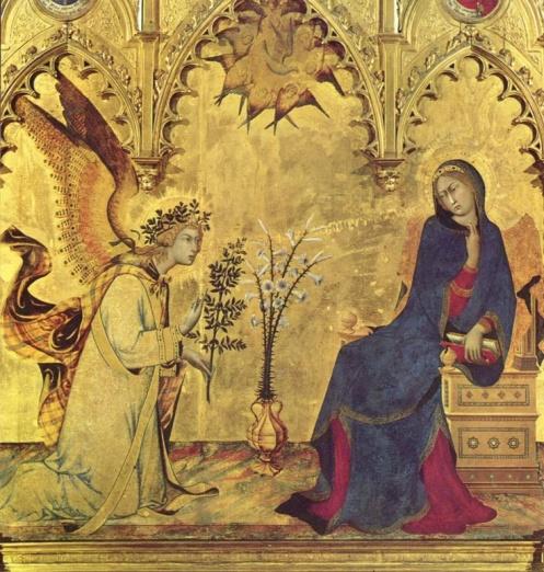 annunciation_Simone Martini